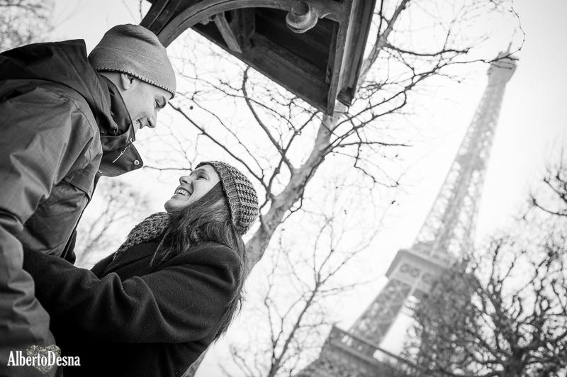 Postboda en París: Blanca y Daniel