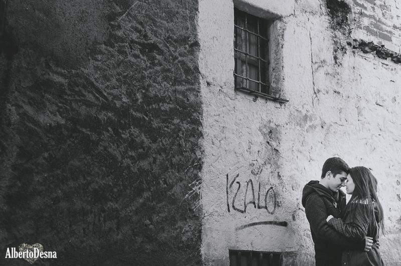 Reportaje pareja La Adrada